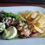 Grilled calamari..!