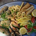 Seafood plater...
