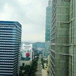 Partial Taipei 101 View