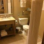 Great clean bathroom