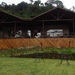 Vista Frontal de uestro Restaurante Rio Crystal