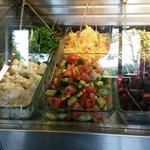 Lovely fresh salads !