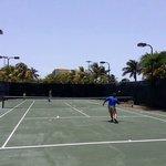 Cancha de tennis