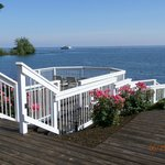 Deck view of Lake Erie