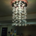 A lovely chandelier in the lobby, but it's no Kiana.