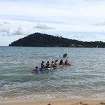 Enjoy with kayaking
