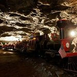 Salt Mine Express underground train ride at Strataca