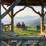 View from the Gazebo, Gooseberry Knob
