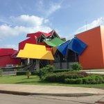 The museum's façade
