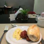 Café da manhã bom