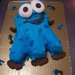 Blue Monster Cake