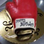 Boxing Glove 3d cake