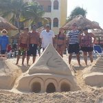 We build week 27 every year sand castles