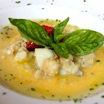 Baccalà con polenta