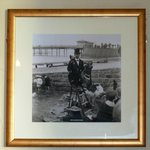 Picture of old Morecambe on the wall
