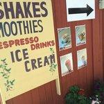 shake, smoothies, coffe