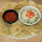 Sticky Fingers Spinach and Artichoke Dip Appetizer