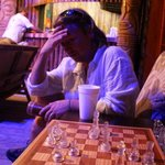 You can play chess near the pool and bar or you can lounge while watching sporting events on the