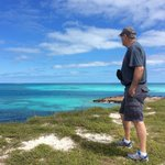 Standing on the top of Fort Jefferson