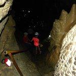 exploring the cavern