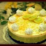 Lemon Cold Cheesecake