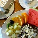 Breakfast I ate (I am a Vegetarian)
