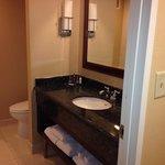Nice size bathroom!