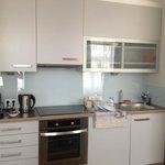 kitchen area apartment 12