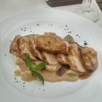 pork with porcini and best sauce ever