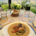 boccon di vino ceci with prawns