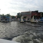 View of Fells Point as we depart the BWT Pier