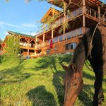 Our guest house and ranch
