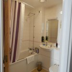 Shower over bath difficult for anyone with mobility issues