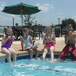 The kids loved the pool!