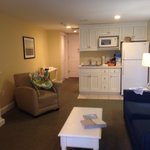 Living room/kitchenette area
