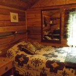 Double Bed in Hunter's Cabin