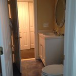 One of two bathrooms, Room 209. Tons of storage throughout unit.