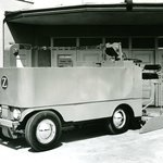 F Series Zamboni, our first model in 1962