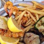 Un piatto di pesce