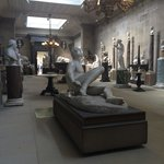 Beautiful sculpture room