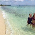 Mr. Sanchos white sand beach