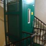 El ascensor que tomabas desde el primer piso
