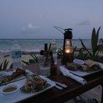 Dinner vista