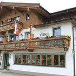 Entrance/front of Hotel Tyrol