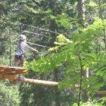 Climbing Park in Arosa (free!)