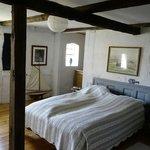 """Vores værelse """"Ingrid"""" bestod af to rum med i alt 4 senge"""