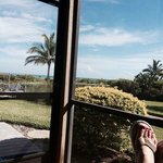 Another lanai view, gulf front.