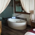 jet tub in suite