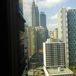 View from room, Petronas Twin Towers