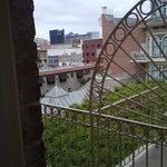 Courtyard balcony view